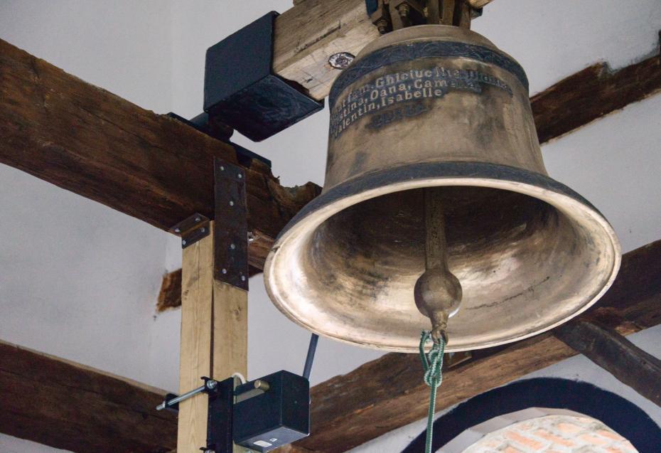 Clopotul nou achizitionat în 2013 - 300 kg.