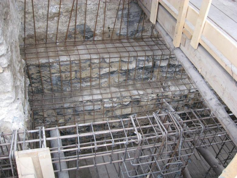 Restaurarea fundațiilor 2010-2013