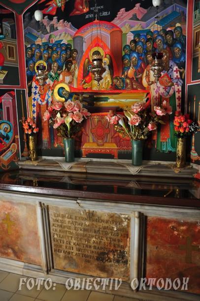 Moaștele Sf. Sava cel Sfințit