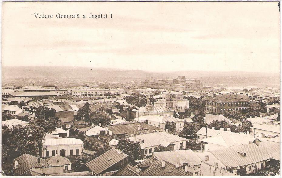 Panorama orasul Iasi sec XX