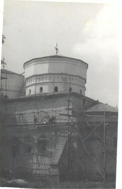 Restaurare în perioada 1981-1984